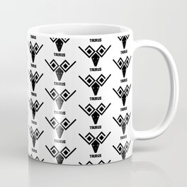 taurus astrology pattern Coffee Mug