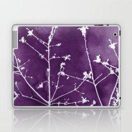 Ultra Violet Botanical Art Laptop & iPad Skin