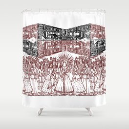 ladies Shower Curtain