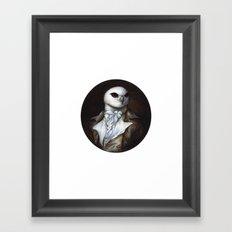 Sir Kite Framed Art Print