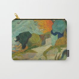 """Paul Gauguin """"Laveuses à Arles (Washerwomen in Arles)"""" Carry-All Pouch"""