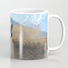Dishing the Dirt - Motocross Champion Race Coffee Mug