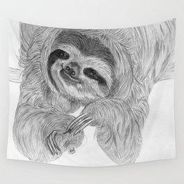Just a sloth Wall Tapestry