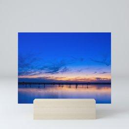Sunset at Lake Tyrrell Mini Art Print