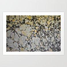 Marble Print #12 Art Print