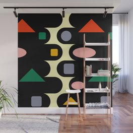 Geometric abstraction  #society6 #decor #buyart #artprint Wall Mural