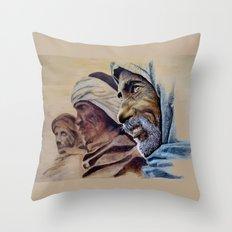 FREE SPIRITS - sunny version Throw Pillow