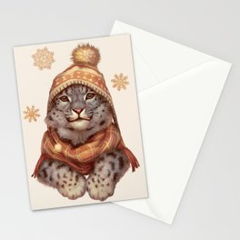 Beanie Weather Stationery Cards