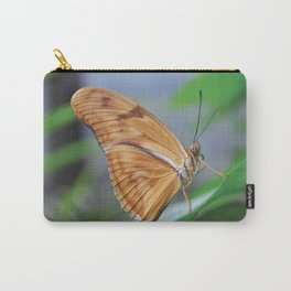 Curly Butterfly Carry-All Pouch