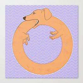 World Dog Canvas Print