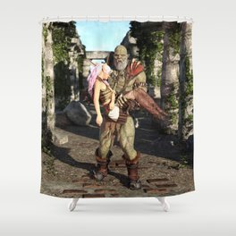 Regret Shower Curtain