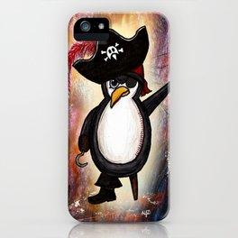 Pito the Pirate Penguin iPhone Case