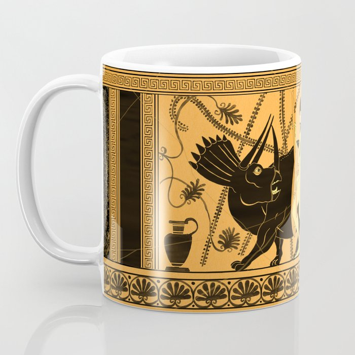 Taming the Triceratops Coffee Mug