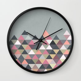Nordic Combination 13 Wall Clock