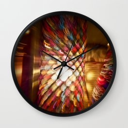 Abstract Alice Wall Clock