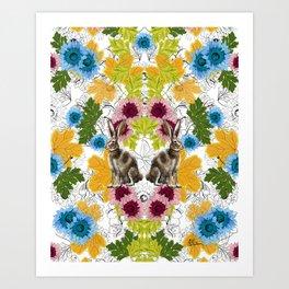 Alicia en los Tropicos by Rehcy Art Print