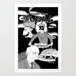 Spooky Steamed Hams Art Print