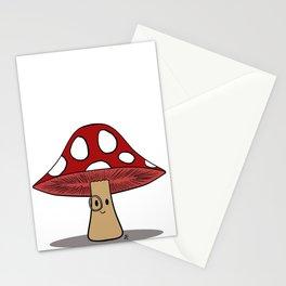 Dapper 'Shroom Stationery Cards
