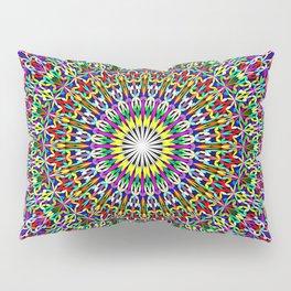 Floral Bohemian Magic Mandala Pillow Sham