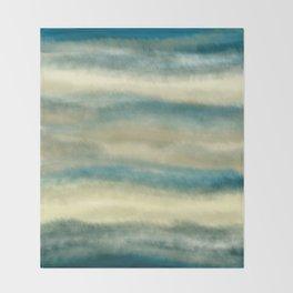 Cloudy Sky Throw Blanket