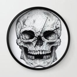 Traditional Anatomical Skull Design Wall Clock