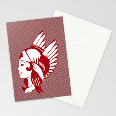 Angel of Mercy, Traditional American Tattoo Design Stationery Cards