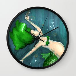 Emerald (May) Wall Clock
