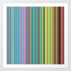 STRIPES23 Art Print