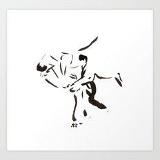 Aikido Series - 2 Art Print