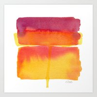 Color Field No. 5 Art Print