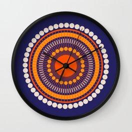 Bloom Mandala Wall Clock