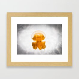 Jelly in the Clouds Framed Art Print