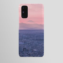 Mt. Fuji Over Tokyo Android Case