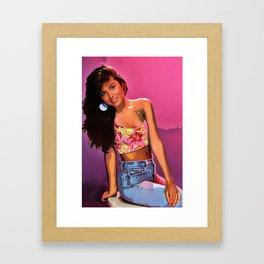 Kelly Kapowski Framed Art Print