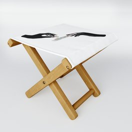 Flower roll / Illustration Folding Stool