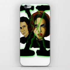 X-files 2 iPhone & iPod Skin