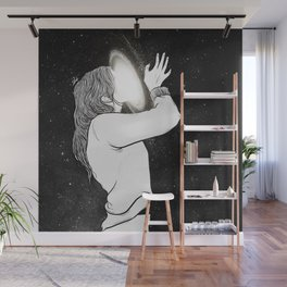 Kiss the soul. Wall Mural