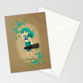 Retro Sailor Neptune Stationery Cards