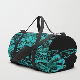 Epic Dragon Teal Duffle Bag