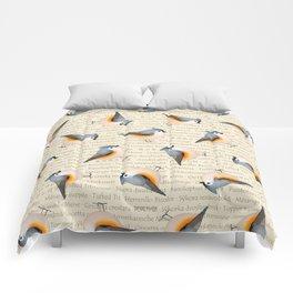 Tufty baeolophus Comforters