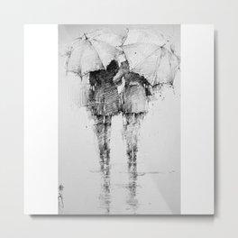 UMBRELLA_GIRLS Metal Print