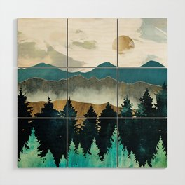 Forest Mist Wood Wall Art