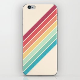 Classic 70s Style Retro Stripes - Penida iPhone Skin