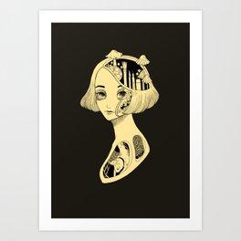 Anatomy of me  Art Print