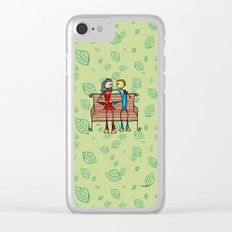Life and living Clear iPhone Case