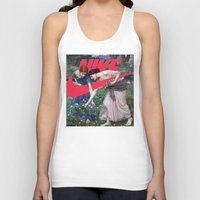 nike Tank Tops featuring Victoria Nike Women by CHESSOrdinary