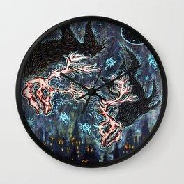 Fonta Fauna Wall Clock