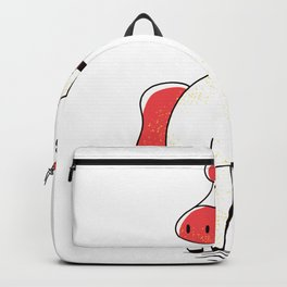 Unicorn with long neck Backpack