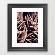 Rust 6 Framed Art Print
