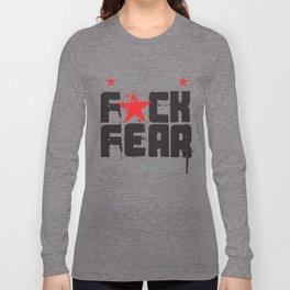 F★CK FEAR (the 2013 tour) Long Sleeve T-shirt
